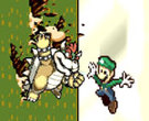  BOWSER vs LUIGI